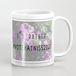 #VoteKatniss2020 Coffee Mug