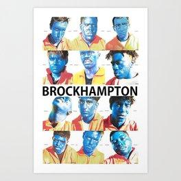 Brock Hampton Art Print
