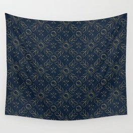 Bohemian Solar Eclipse- Gold Wall Tapestry