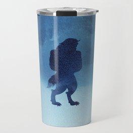 Beast Silhouette - Beauty and the Beast Travel Mug