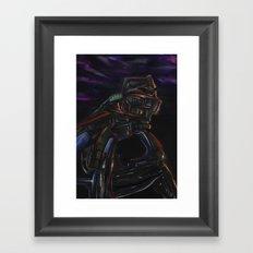Mind Wanderer Framed Art Print