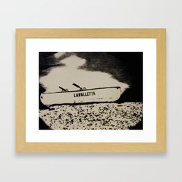 Memory Beach Framed Art Print