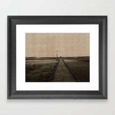 Llandudno Lovers Framed Art Print