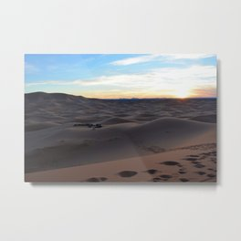 Erg Chebbi | Merzouga, Morocco Metal Print