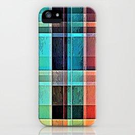 Plaid 17 iPhone Case