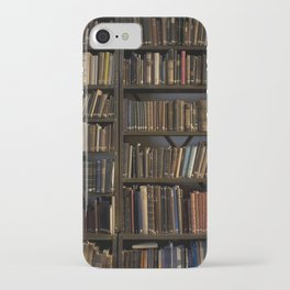 Library books iPhone Case