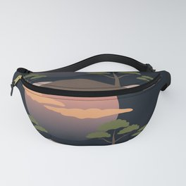 Sunset in Africa Fanny Pack