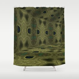 Iconic Hollows 13 Shower Curtain