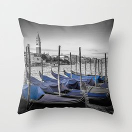 VENICE Grand Canal and St Mark's Campanile Throw Pillow