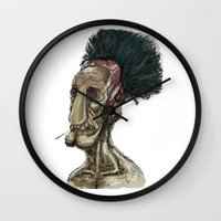 video game Wall Clocks featuring Video game character  by Jay Taylor