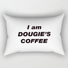 I am DOUGIE'S COFFEE (Twin Peaks) Rectangular Pillow