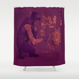 Zayn Shower Curtain