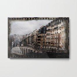Paris Décembre 2008 Metal Print