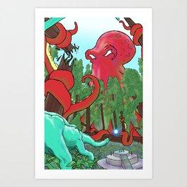 Part 5: Stealing the Scepter  Art Print