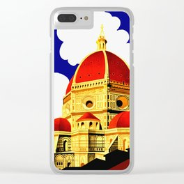 Firenze - Florence Italy Travel Clear iPhone Case