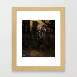 Wendigo...Death by Heavy Metal... Framed Art Print