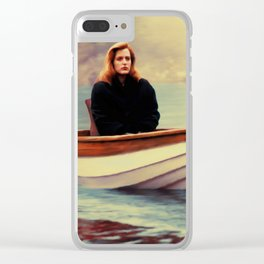 One Breath painting Clear iPhone Case