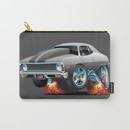 Classic American Muscle Car Hot Rod Cartoon Carry-All Pouch