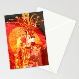 Masked Phoenix of The Annecy Carnaval Stationery Cards