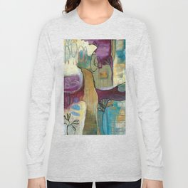 """Conjure"" original painting by Alison Moncrieff Long Sleeve T-shirt"