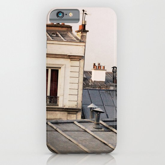 Paris Rooftop #1 iPhone & iPod Case