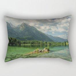 Hintersee Bergsee Mountains Rectangular Pillow