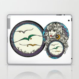 The 3 Birds of Rhiannon Laptop & iPad Skin