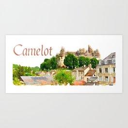 Pierrefonds Castle, France (Camelot) Art Print