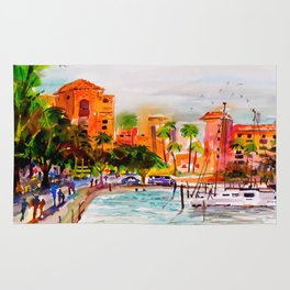 The Vinoy Hotel St. Pete Florida Rug