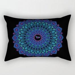 Tribal Manta Mandala Rectangular Pillow