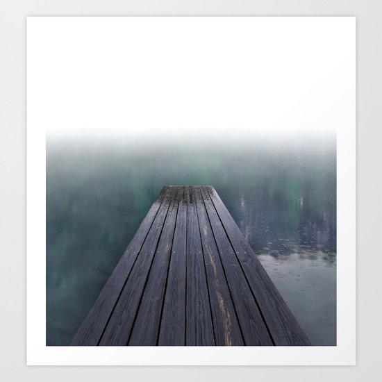 board Walk (smaller sizes) Art Print