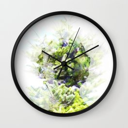 Where the sea sings to the trees - 4 Wall Clock