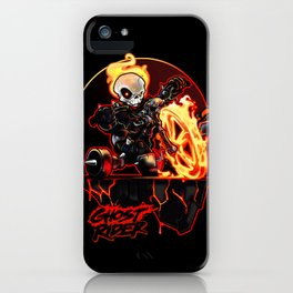 Hell on Big Wheel iPhone Case