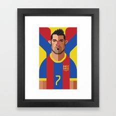 DV7   Blaugrana Framed Art Print