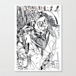 Brut Guru Canvas Print