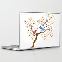 valentines Laptop & iPad Skins featuring Valentines Day by Fawa Shah