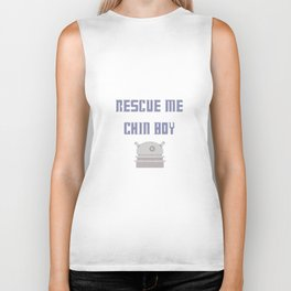 Rescue Me Chin Boy Biker Tank