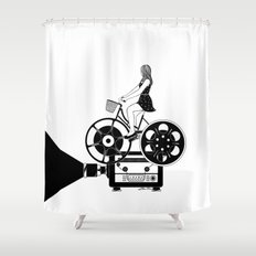 Cinema Paradiso Shower Curtain