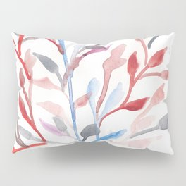 Watercolour Tree 6 |Modern Watercolor Art | Abstract Watercolors Pillow Sham