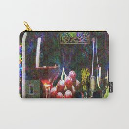 """More Wine"" by surrealpete Carry-All Pouch"