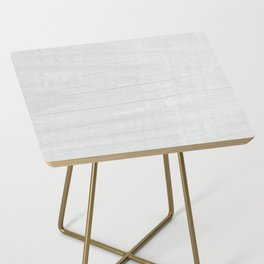 Gray Weathered Wood Side Table