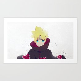 Boruto Uzamaki Art Print