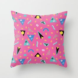 Sound of the 80's Throw Pillow