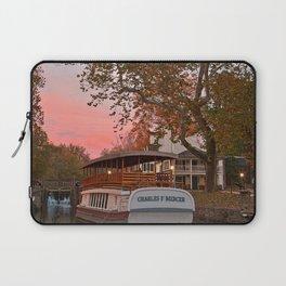 Autumn Twilight Canal Laptop Sleeve