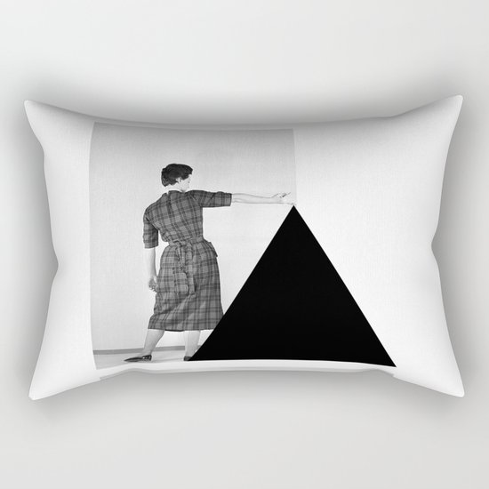 Be my Triangle Rectangular Pillow