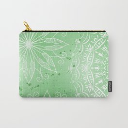 Green Pastel Mandala  V60 Carry-All Pouch