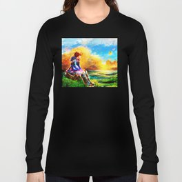 Nausicaa of the Valley of the Wind Long Sleeve T-shirt