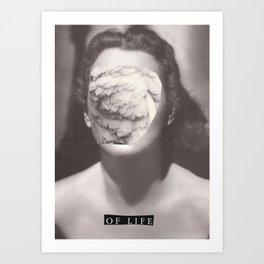 Nothing Angel - être pour la mort Art Print