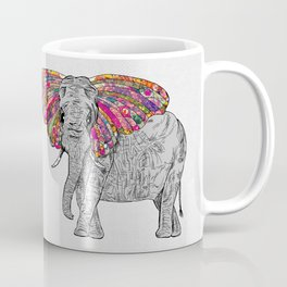Bella The Happy Butterphant Coffee Mug