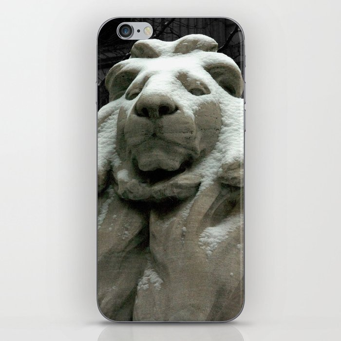 Patience In The Snow iPhone Skin